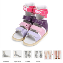 Sandals Arch-Support-Insole Orthopedic Girls Shoes Boys Kids High-Top EVA for with Hard-Wearing