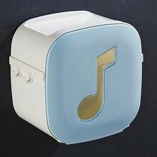 1 шт. Водонепроницаемая коробка для салфеток, портативные держатели для туалетной бумаги, стойка для ванной комнаты, органайзер, лоток, аксессуары для хранения