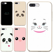 cute Animal Panda pig Smile Pastel Silicone Phone Case For Xiaomi Mi A1 A2 A3 5X 6X 8 9 9t Lite SE Pro Mi Max Mix 1 2 3 2S(China)