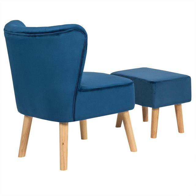 Leisure Chair and Ottoman  6