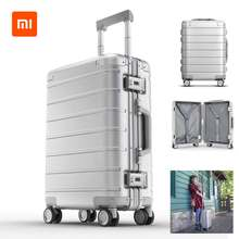 Xiaomi 90FUN 20inch Travel Suitcase Boarding Luggage TSA Password Lock Spinner Wheel Luggage Carry On Suitcase(China)