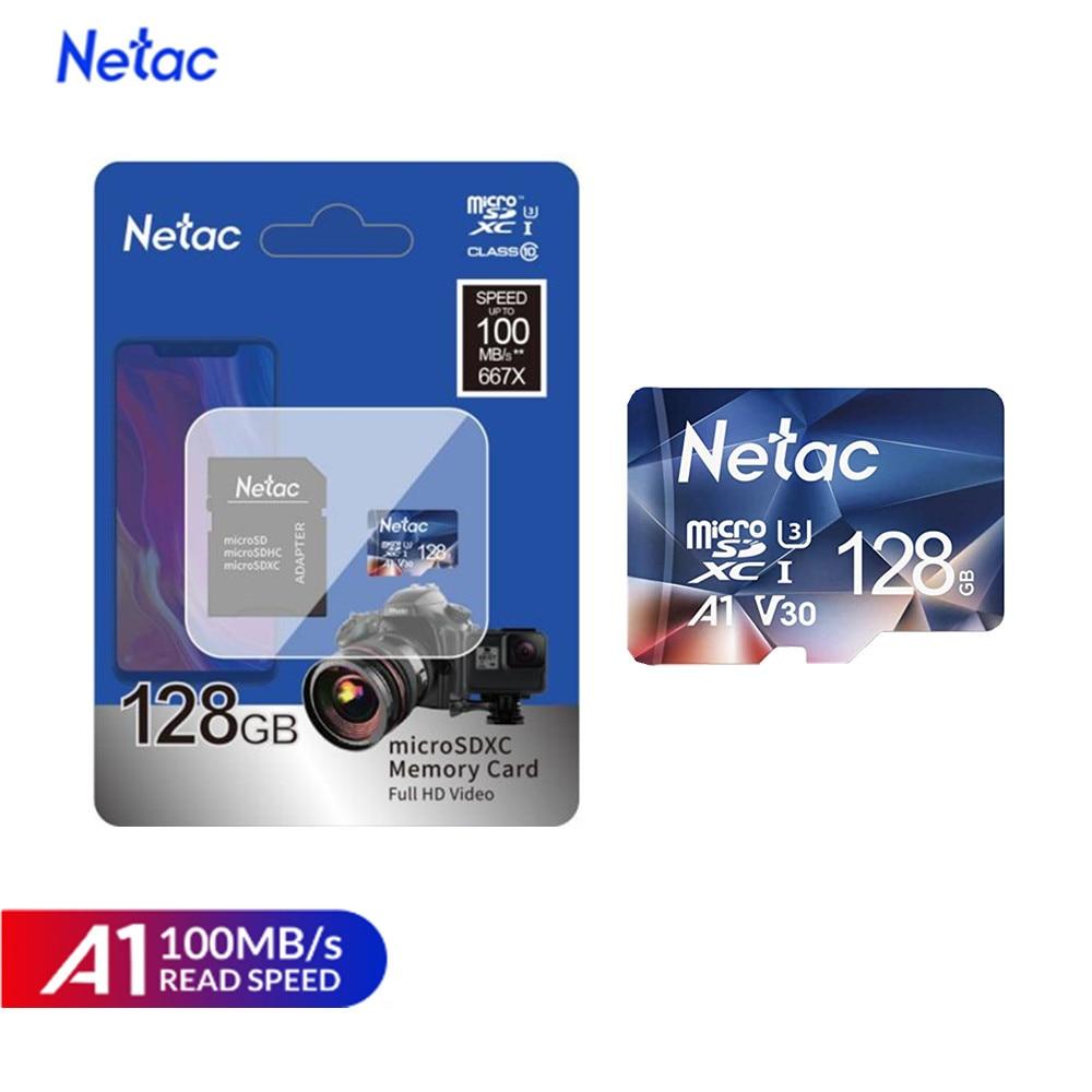 Netac P500 A1 Sd Card Memory Card 32GB 16GB 100MB/S Micro SD Card Class10 UHS-1 Flash Card Memory 32 GB Cards Hot Sale Tf Card