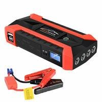 89800mAh 12V Car Jump Starter Pack LCD 4 USB Charger Battery Power Bank Fast Charging Car Emergency Start Power|  -