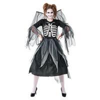Adult Women Dark Angel Costume Vampire Zombie Costumes Ghost Bride Dead Ghost Devil Halloween Malicious Witch Dress