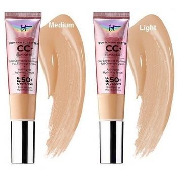 it cosmetic your skin but better CC+ illumination color correcting illuminating full coverage cream spf 50+ uva/uvb 1