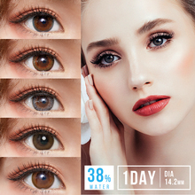 Contact-Lenses Lenses-Degree Eyes Colored Select Brand Sincere-Vision for Eye-1day-Use