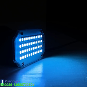 Image 5 - Luz Led estroboscópica giratoria de alta calidad, 48LED SMD 2019, luces de escenario Led activada por voz, fiesta, Disco, Bombilla de estroboscopio, 5050