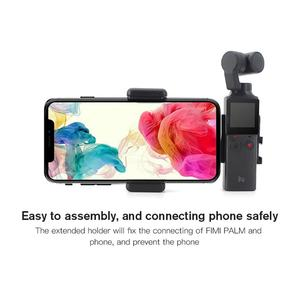 Image 3 - FIMI PALM klips do telefonu komórkowego uchwyt do montażu statyw teleskopowy do FIMI PALM kamera ręczna uchwyt na telefon kardana ręczna aparat