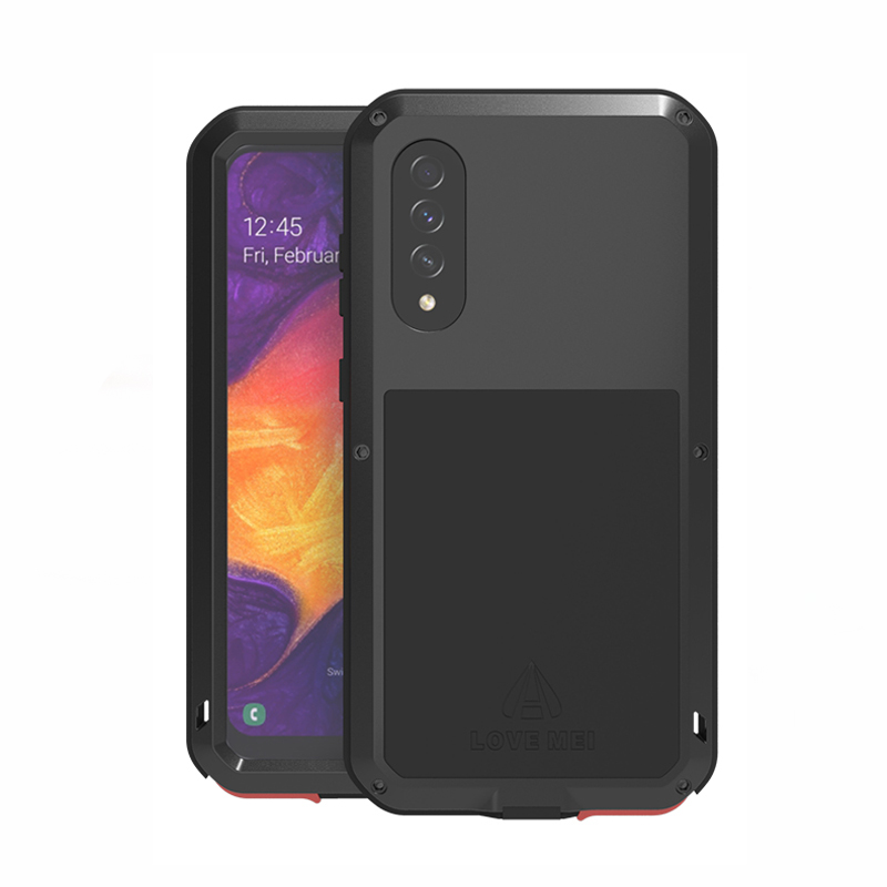 Hot LOVE MEI Waterproof <font><b>Case</b></font> <font><b>For</b></font> <font><b>Samsung</b></font> Galaxy A70S <font><b>Shockproof</b></font> Metal Armor Cover <font><b>For</b></font> Galaxy <font><b>A30</b></font> A20 A50S A70 A70S A40S <font><b>Cases</b></font> image
