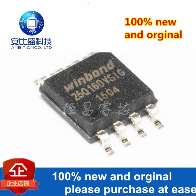 10pcs 100% New And Orginal W25Q16DVSSIG Silk-screen 25Q16DVSIG 25Q1 16mbit SOP8 Iin Stock