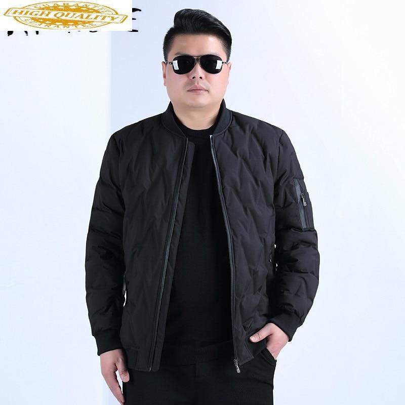 Winter Coat Men Plus Size 90% White Duck Down Jacket Korean Fashion Puffer Jacket Men Warm Parka Casaco Y76 YY1354