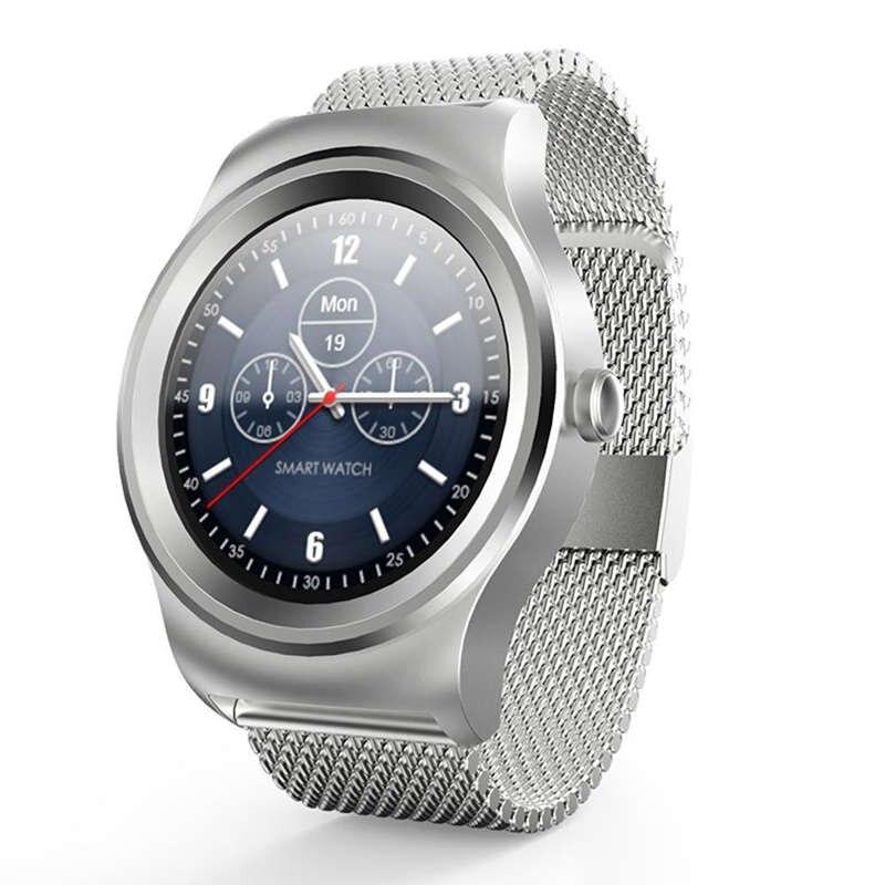 R1 Bluetooth appel montre intelligente cercle complet presse écran podomètre de fréquence cardiaque