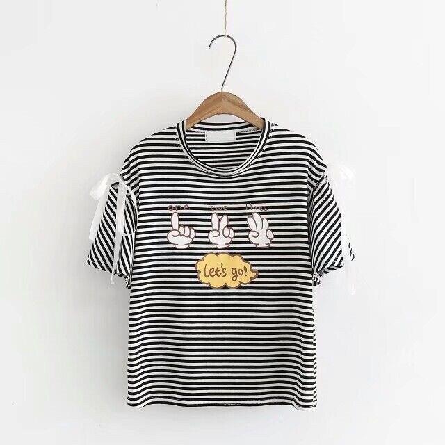 Print Loose T Shirt Women Round Neck Short Sleeve Tops 2018 Fashion Shirt