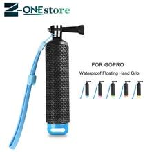 Empuñadura flotante a prueba de agua para GoPro Hero 8 7 6 5 4 Sjcam Yi Lite 4K accesorio para Cámara de Acción