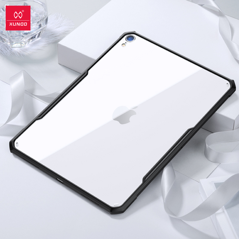 for iPad 2018 2017 Pro 11 12 9 air 2 9 7 air 3 10 5 inch for iPad mini 1 2 3 4 5 XUNDD Acrylic TPU Protective tablet Case Cover in Tablets e Books Case from Computer Office
