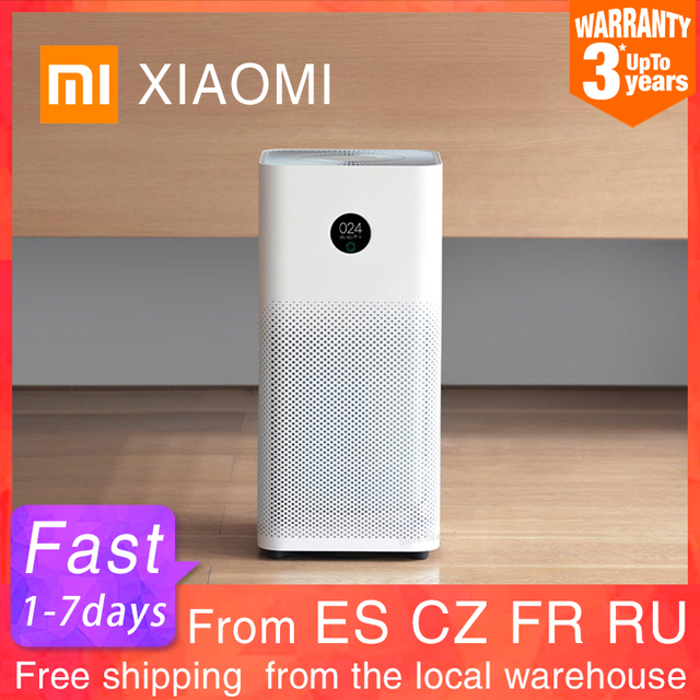 $ US $257.22 XIAOMI MIJIA Air Purifier 3 3H Intelligent Household air cleaning Sterilizer addition Formaldehyde wash Hepa Filter Smart WIFI