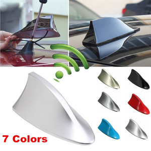 Image 1 - Uniwersalna antena samochodowa w kształcie płetwy rekina anteny radia samochodowego anteny dachowe dla BMW/Toyota/Hyundai/VW/Kia/Nissan Car Styling