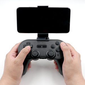 Image 2 - 8bitdo Smartphone Clip for SN30 Pro+ SN/G Classic Controller Universal Foldable Stand Holder Bracket for Smart Cell Mobile Phone