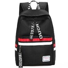 Erkek kadın sırt çantası okul sırt çantası büyük kapasiteli dizüstü sırt çantası erkek kız genç okul çantası seyahat çantası omuzdan askili çanta Mochila