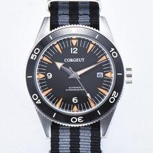 Corgeut 41mm Automatic Mechanical Watch Men Luxury Brand Mil