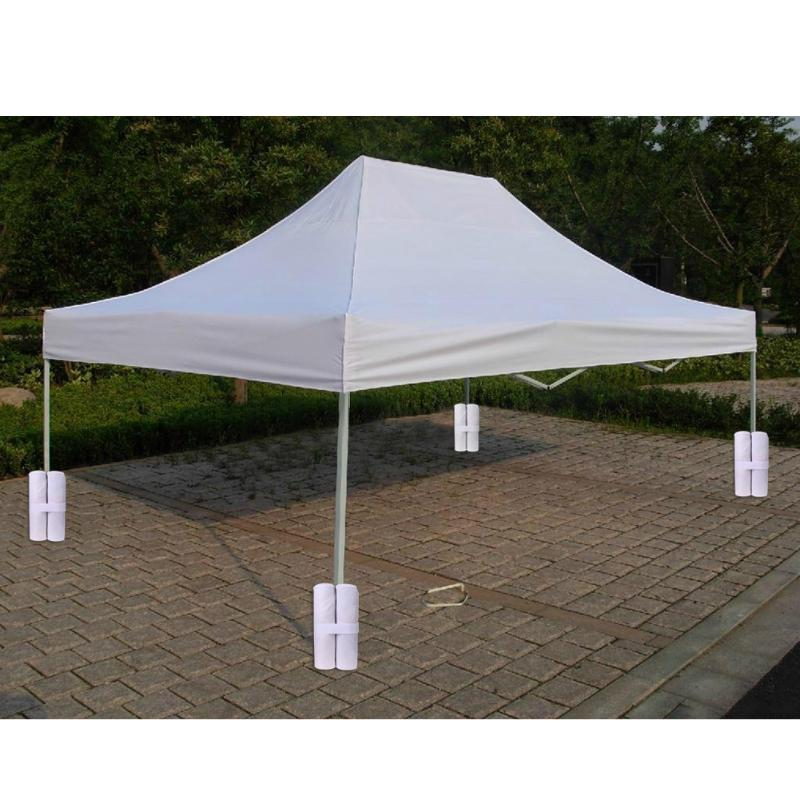 4pcs Tent Sand Bag Sunshade Canopy 4 Leg Tent Shelter Weight Feet Sand Bags Windproof Fixing Sandbag Tents Accessories
