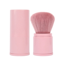 1pcs Blusher Foundation Brush Soft Makeup Brush Professional Telescopic Face Single Portable Powder Brush Fashion Cosmetic недорого