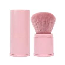 1pcs Blusher Foundation Brush Soft Makeup Brush Professional Telescopic Face Single Portable Powder Brush Fashion Cosmetic недорого