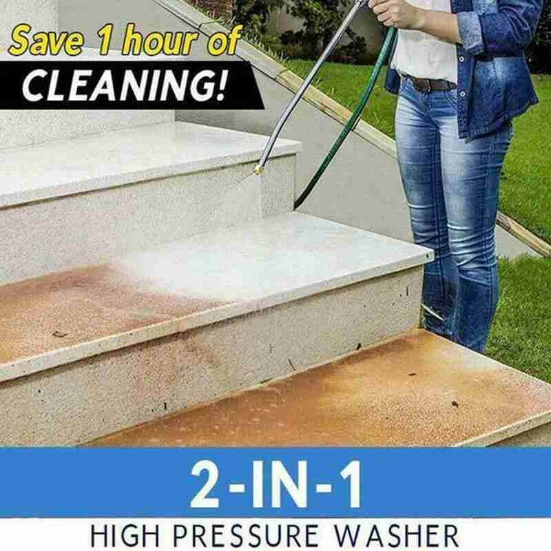 H55cf4782ce0443f99fe0f5638ef538dfB - Water gun high pressure water gun car washing machine smoke conditioner spray air tool suction spray cleaning cleaning foam F7M9