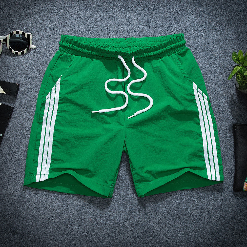 Deft Reds Celebrity Style Slim Fit Shorts Men Summer Lively Fella Social Casual Pants Beach Shorts Shorts Fashion