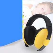 купить Baby Children Sleep Ear Defenders Noise Proof Earmuffs Protection Baby Boys Girls Anti-Noise Durable Headphone дешево