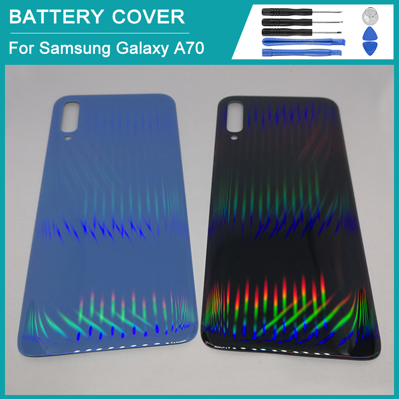 For Samsung Galaxy A70 battery back cover 2019 Samsung A70 SM-A705F A705 A705F replacement back cover battery box
