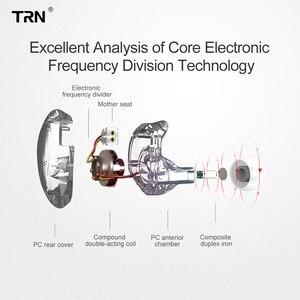 Image 2 - Trn V10 2DD 2BA Hoofdtelefoon Hybrid In Ear Oortelefoon Hifi Dj Monitor Running Sport Oortelefoon Headset Trn V90 V20 V80 v30 AS10 T2 Vx