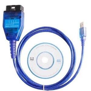 Image 4 - 1 pz Ecu OBD2 USB KKL cavo diagnostico per auto per Fiat FTDI Chip Car Ecu Scanner Tool interruttore a 4 vie interfaccia USB