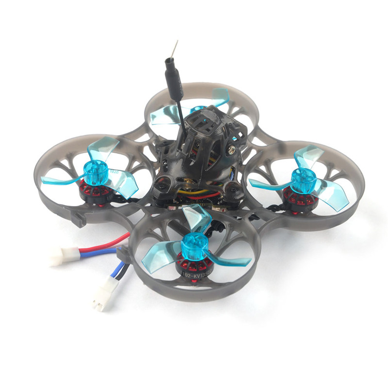 Eachine Novice-I 75mm 1-2S Whoop FPV Racing Drone RC Helicopter RTF & Fly more w/ WT8 2.4G Transmitter 5.8Ghz 48CH VR005 Goggles 2