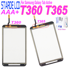 For Samsung Galaxy Tab Active SM-T360 SM-T365 T360 T365 Touch Screen Digitizer Glass Replacement Repair Part with Free Tools