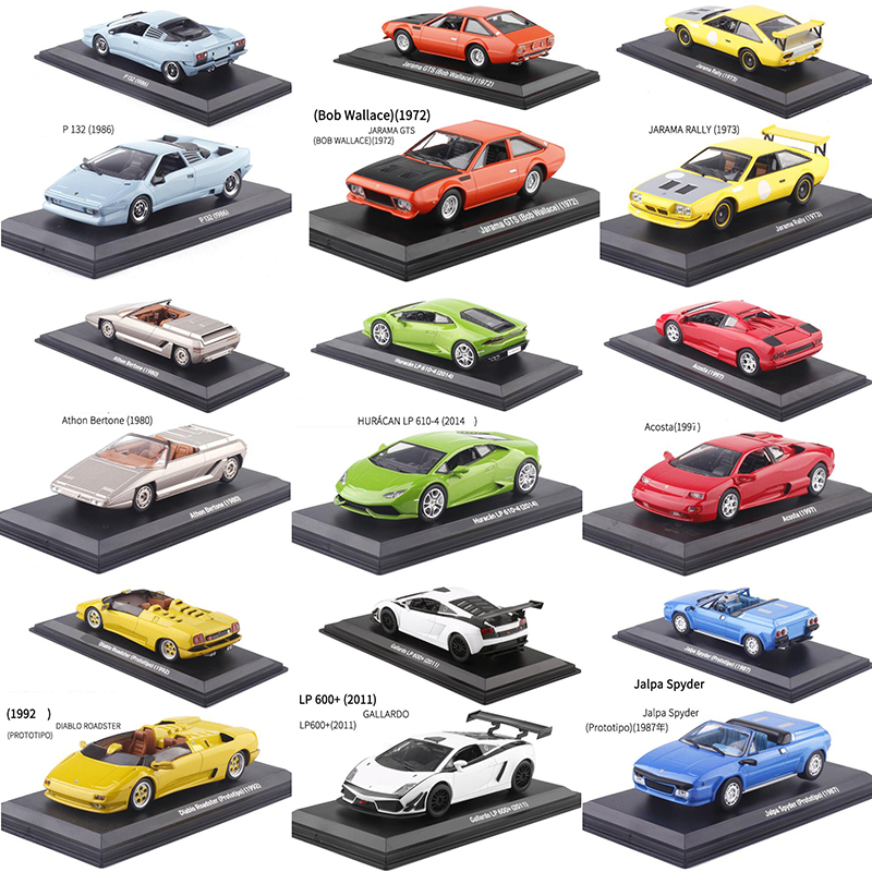 1:43 Scale Metal Alloy Classic Racing Rally Car Model Diecast Vehicles Toys For Collection Display Not For Kids Play