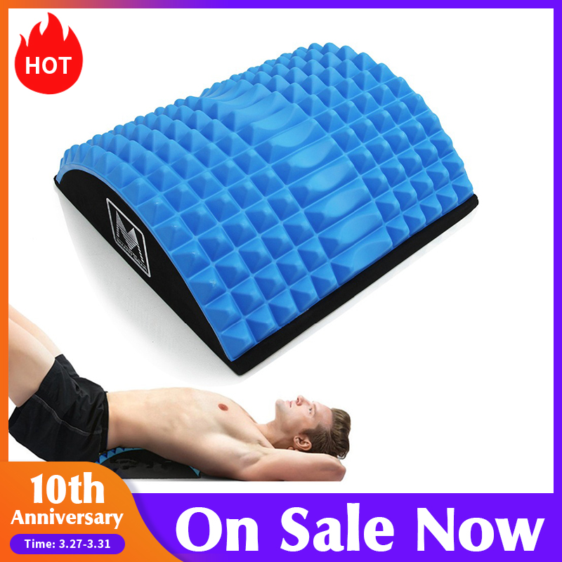 Procircle Abdominal Mat Core Trainer Massaging Spikes For Full Range Of Motion Ab Sit-up Workouts & Back Stretcher USA Warehouse