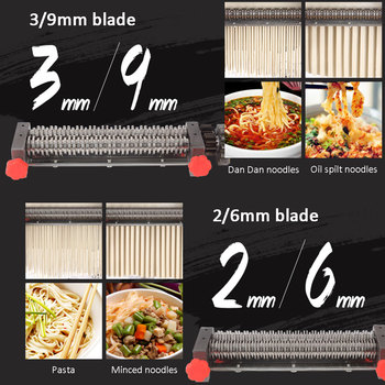Noodle maker blade,pls leave message which size 160/180/200/220/240