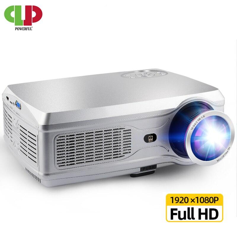 Projecteur HD puissant SV-358 1920*1080P Android 6.0 (2G + 16G) projecteur Wifi LED bluetooth avec RJ45 pour Home Cinema, projecteur vidéo