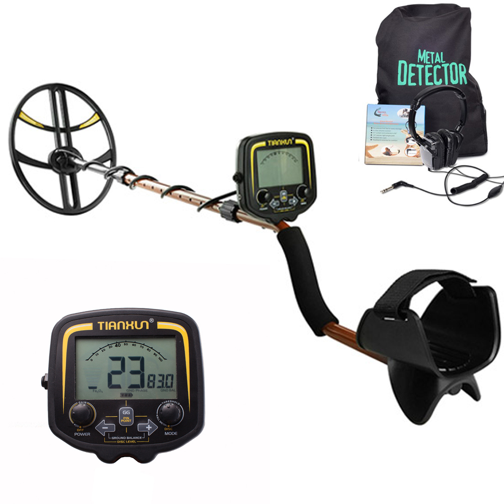 Professional Metal Detector TX-850 Underground  Scanner Finder Gold Digger Treasure Hunter Pinpointer LCD Display Detector