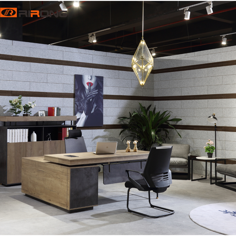 Industrial Style Melamine 1.8m E1 Board Antique Manager Office HOME Executive Simple Offce Table Desk