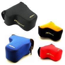 Защитный неопреновый мягкий внутренний чехол сумка для камеры Olympus, чехол для камеры, чехол для Olympus, OM D, EM10, EM5, Mark III, II, с объективом 14 150 мм, 12 40 мм