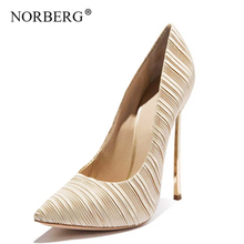 NORBERG2019 new ladies shoes ladies high heels banquet shoes fashion wedding shoes stiletto shoes все цены