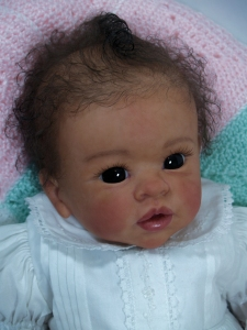 NPK 20 Inches Reborn Doll Kit Misha by Linda Fresh Color Doll Parts Flexible Vinyl