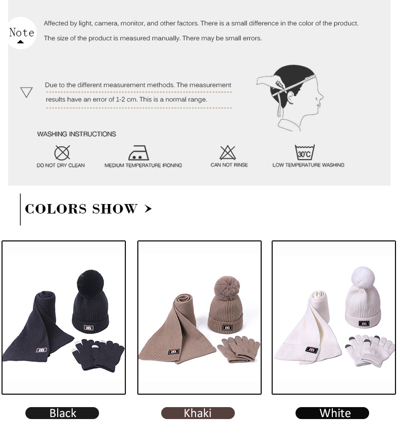 Conj. chapéu, cachecol e luvas p/ meninas