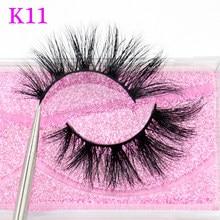 Visofree rzęsy z norek 3D norek włosy sztuczne rzęsy naturalne grube długie rzęsy puszyste makijaż uroda rozszerzenie narzędzia K11