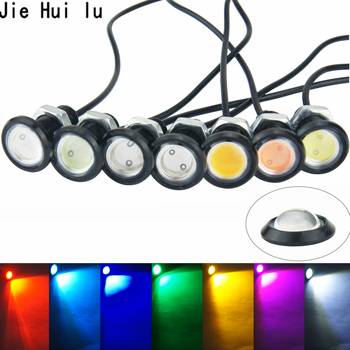 1Pcs Eagle Eye LED Car Light Daytime Running Lights DRL Car Parking Signal Lamp 12v 18mm 23mm For Motorcycle Auto image