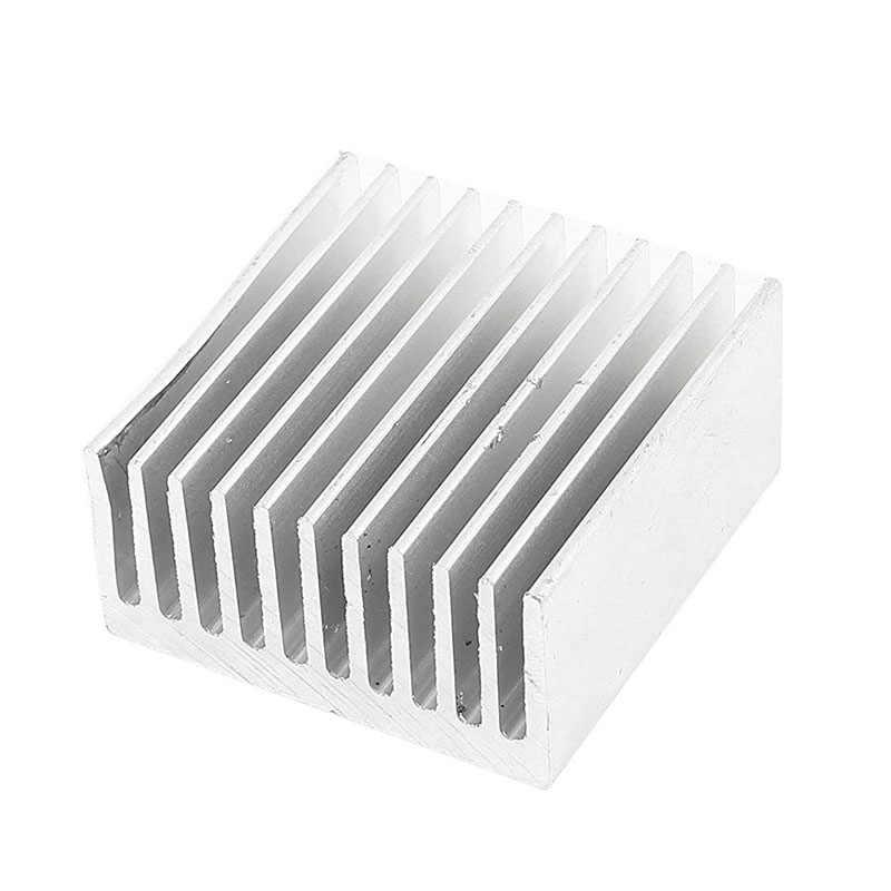 الفضة لهجة الألومنيوم برودة المبرد بالوعة الحرارة المبرد 40x40x20 مللي متر