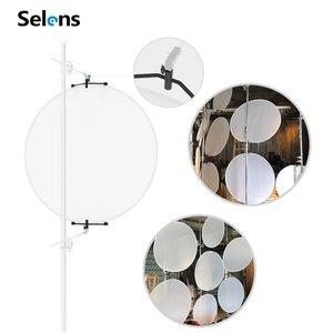Image 5 - Selens 150x200cm 2 em 1 pano de fundo + refletor magnético suporte estúdio tela fotografia fundo para youtube vídeo studio