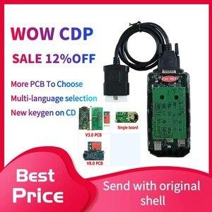 Image 1 - 2021 son VD DS150E CDP V5.0012 2017R3 Keygen Bluetooth ile arabalar için obd2 teşhis tarayıcı aracı daha fazla pcb olabilir seçin
